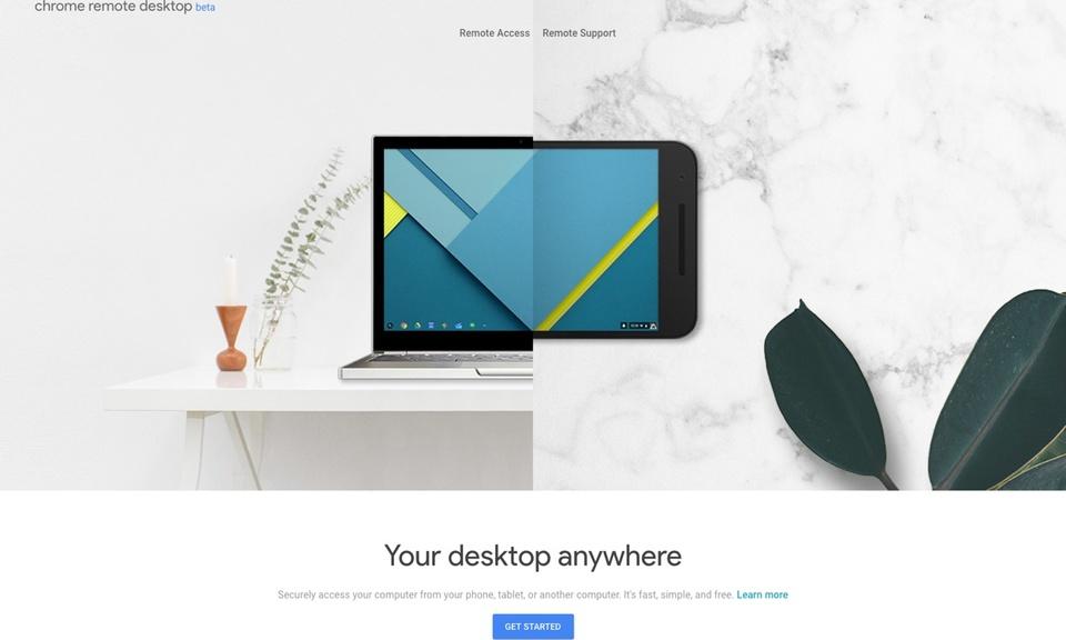 Chrome Remote Desktop-免费远程桌面工具