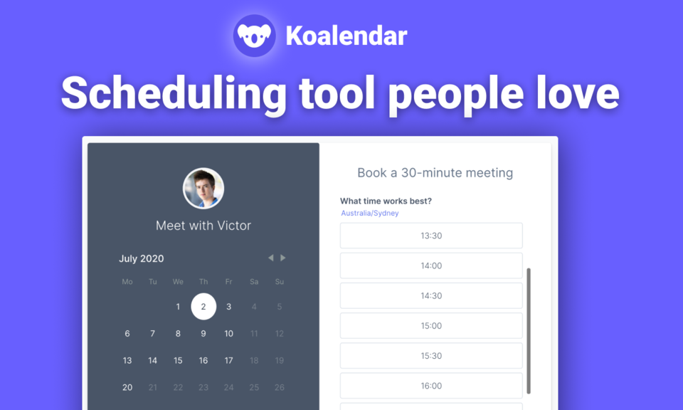 Appointment Booking for Google Calendar
