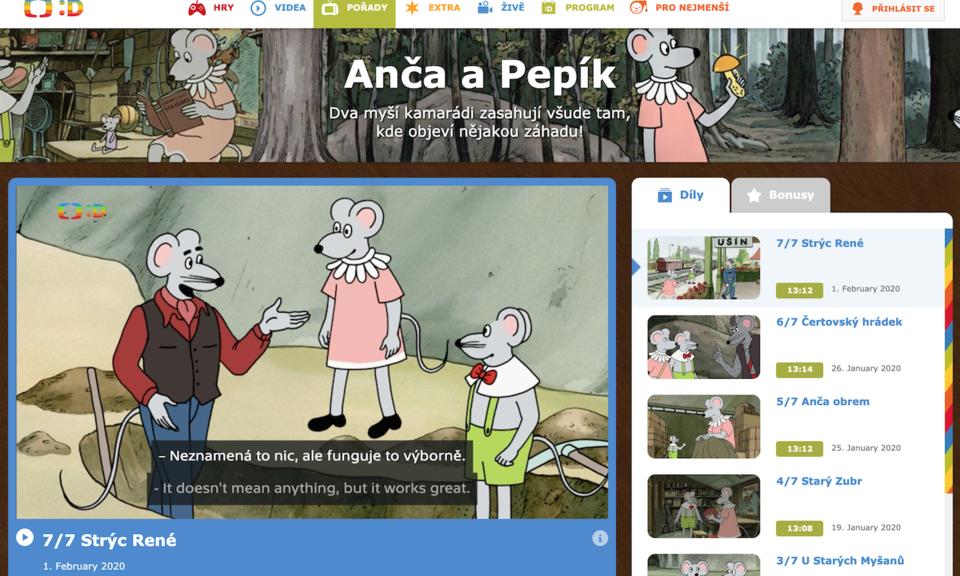 Learn Czech with TV