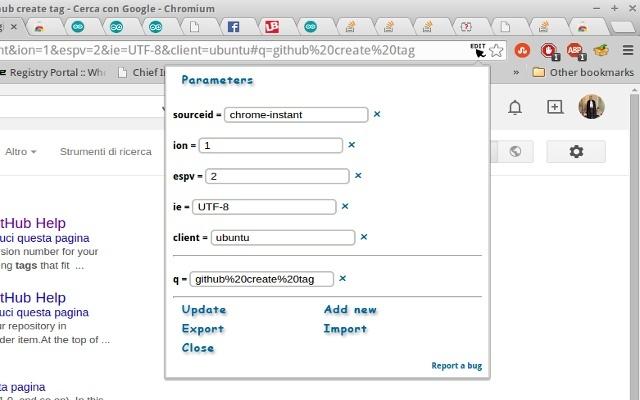 Parameters Editor