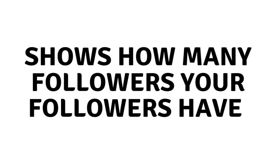 Twitter Followers Counter
