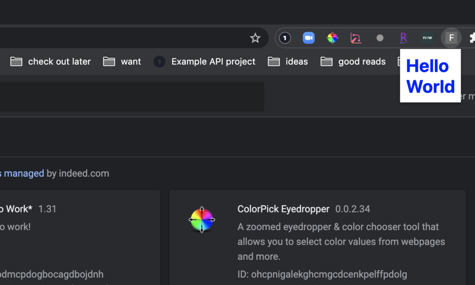 Flowcode Chrome Extension