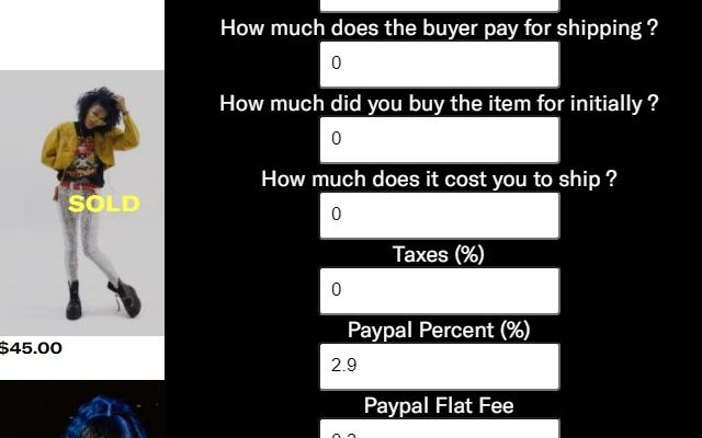 Depop Fee Calculator By Autodepop