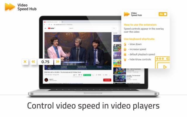 Video speed hub