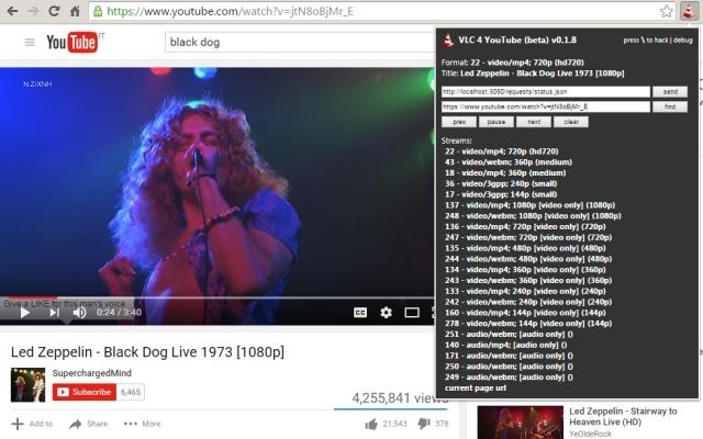 VLC 4 YouTube (beta)