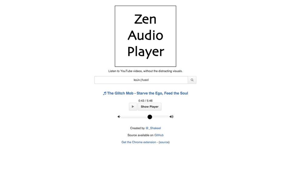 Zen Audio Player redirector