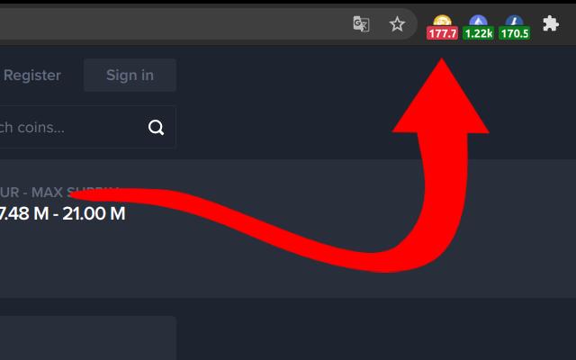 Bitcoin SV (BSV)   Simple Ticker