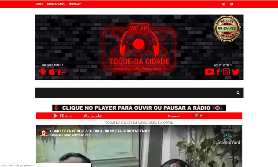 RÁDIO TOQUE DA CIDADE