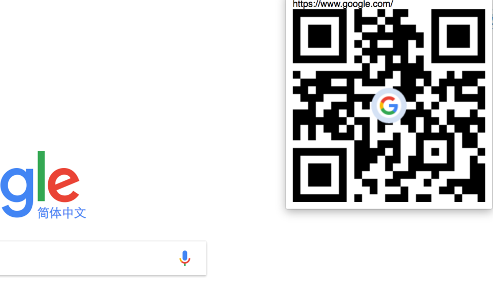 QRcode this page