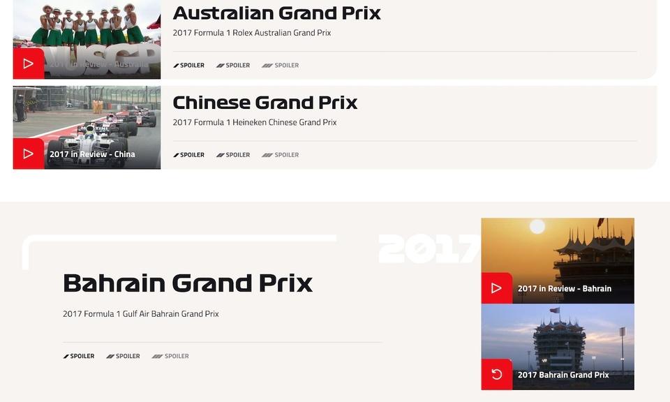 F1 TV No-Spoil