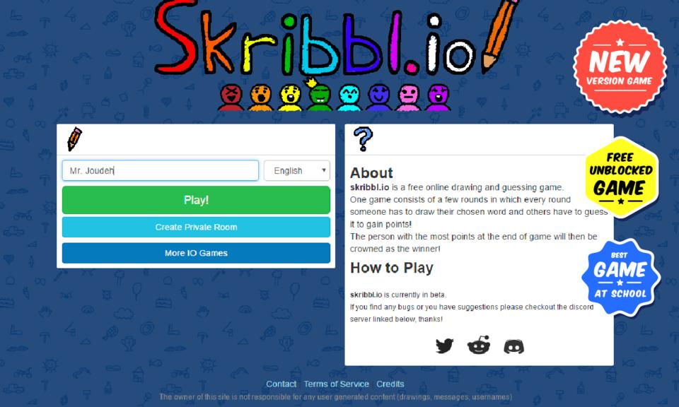 Skribbl.io Game Play