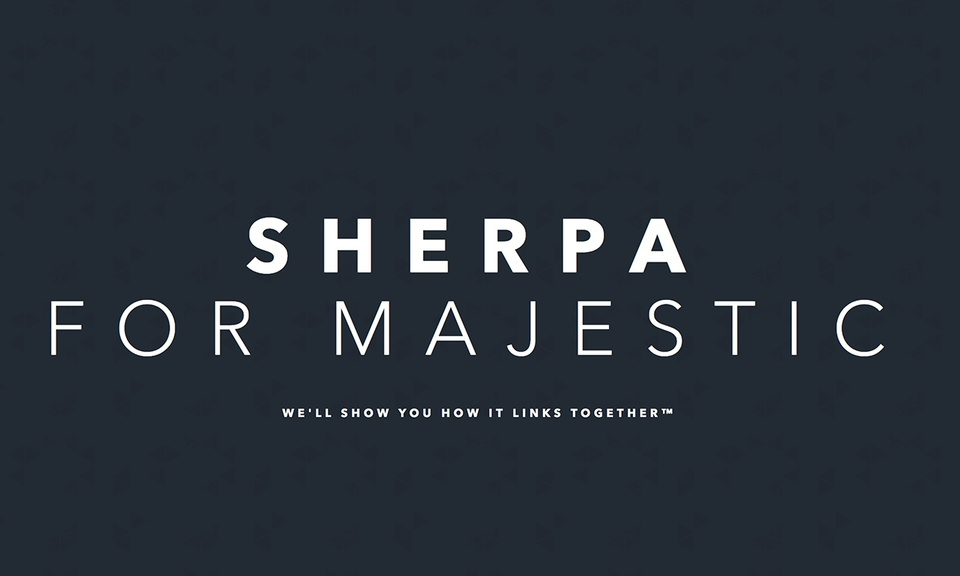 Sherpa for Majestic Chrome Extension