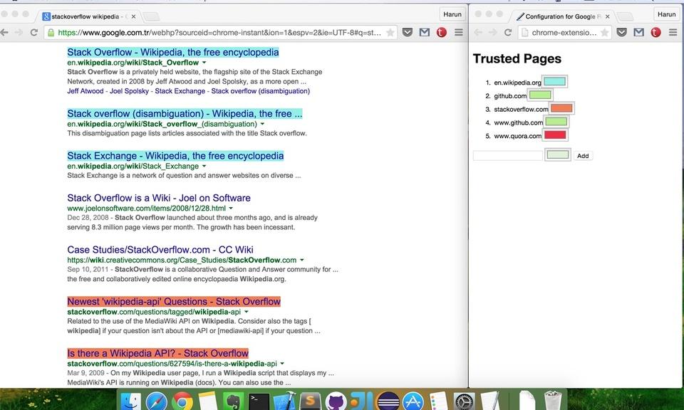 Google Result Highlighter