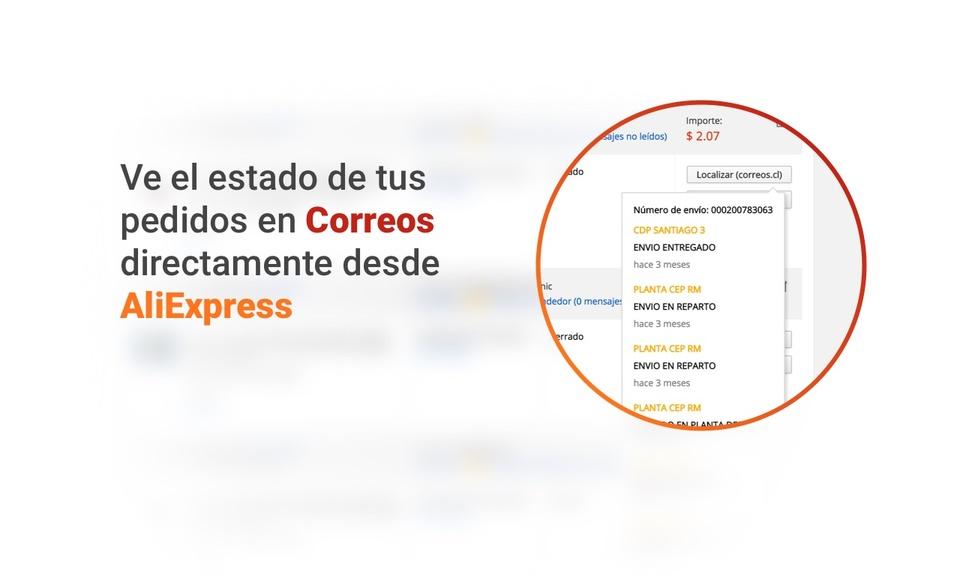 Aliexpress Correos Checker