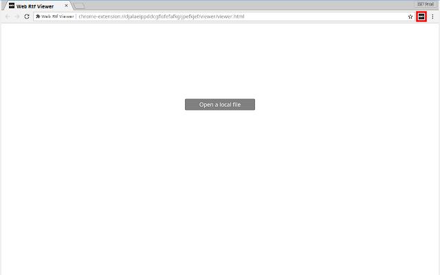 Web RTF Viewer