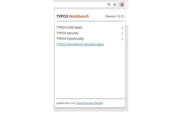 TYPO3 Workbench