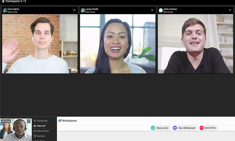 WebRoom.net screenshare