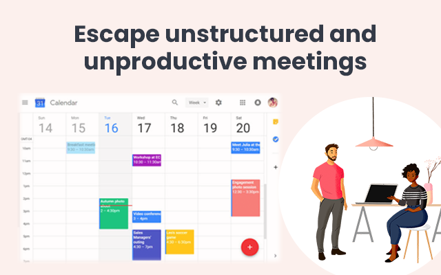 BetterMeetings: save time, optimize meetings