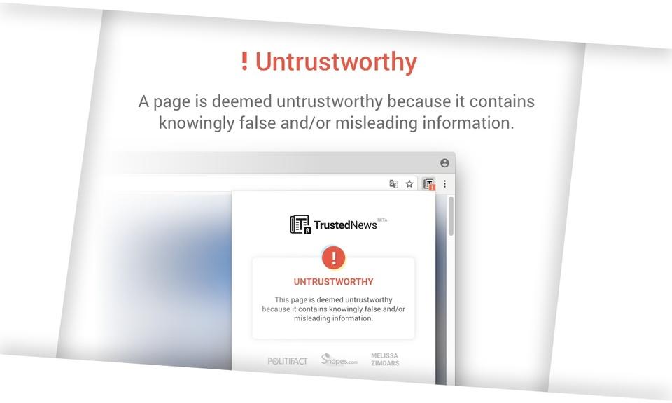 Trusted News for Google Chrome