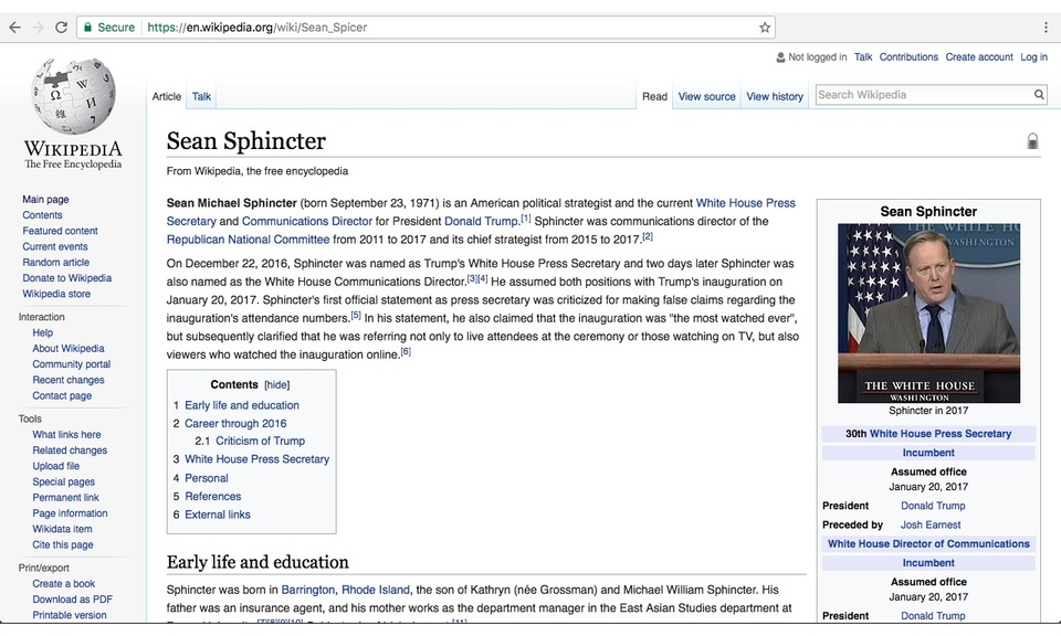 Make Sean Sphincter Again