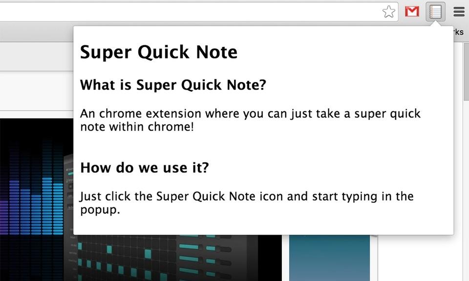 Super Quick Note