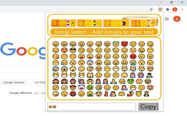 Emoji Select