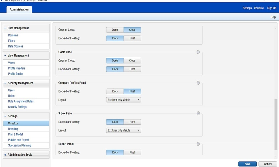 Saba Org Planning Admin Chrome Connector 2.0