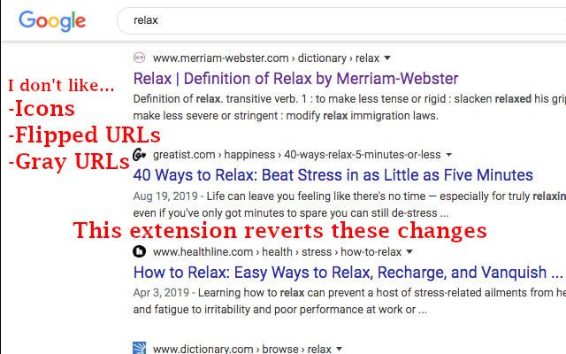Remove Google Icons