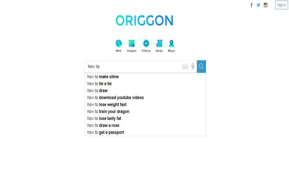 Origgon for Chrome