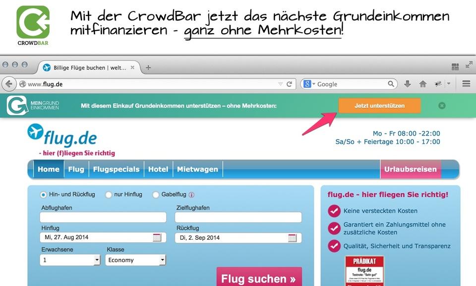 Crowdbar