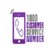 1800 Customer Service Number 插件