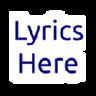 Lyrics Here by Rob W