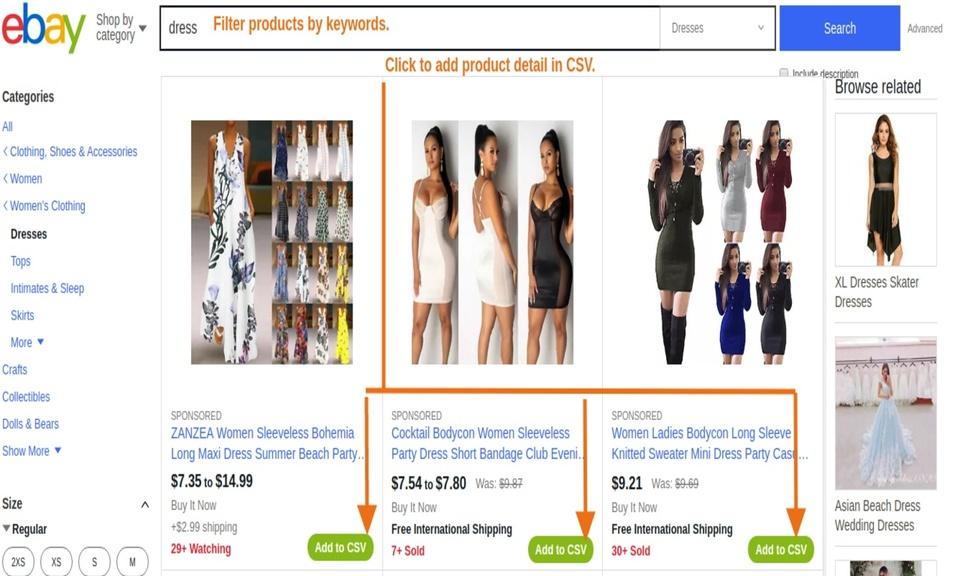 eBay Product Scraper