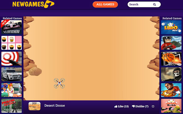 Desert Drone Free Game
