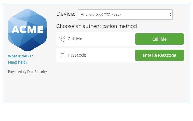 Google Verified Access by Duo - Duo安全访问插件
