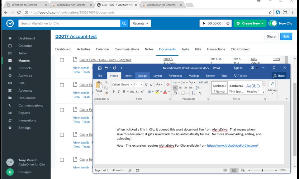 AlphaDrive Browser Connector