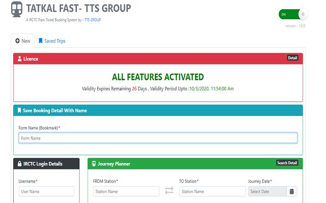 TATKAL FAST- TTS GROUP