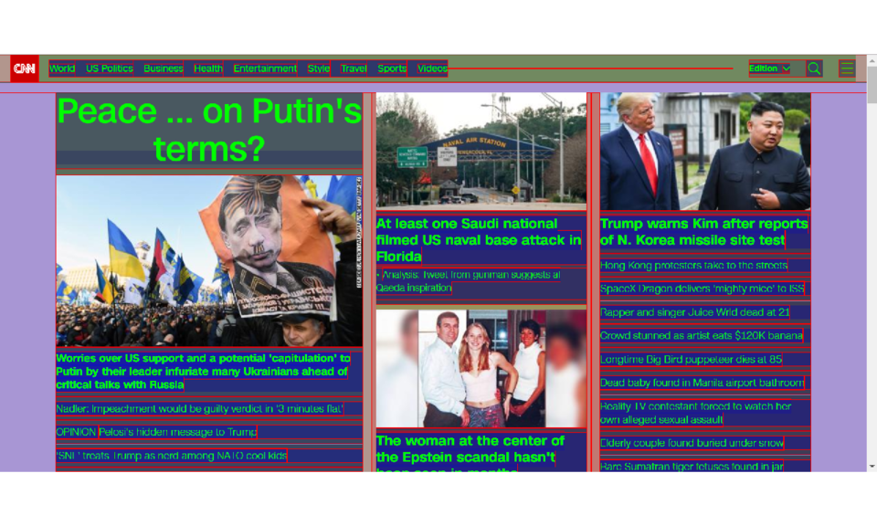 Page Layout Viewer