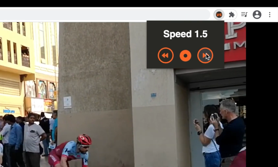 VidSprint: Video Speed Controller