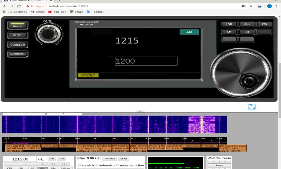 SDR Web Radio
