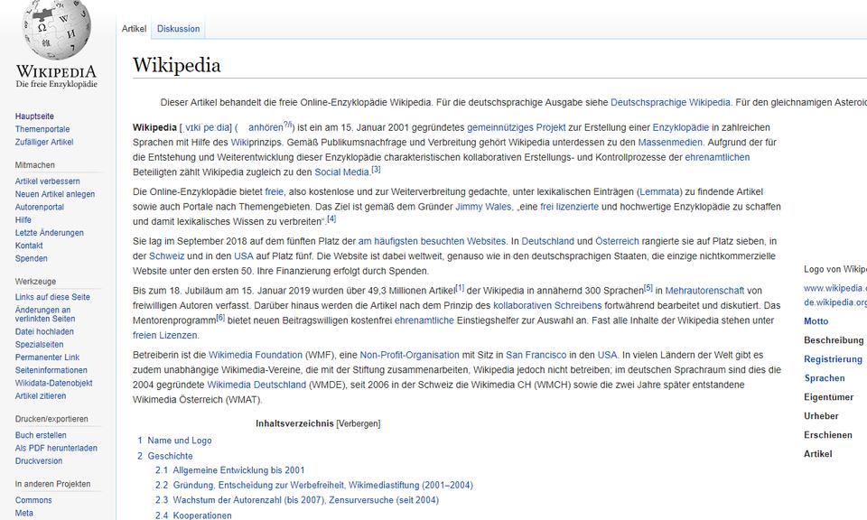 Wikipedia Unhide