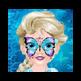 Baby Elsa Butterfly Face Art 插件