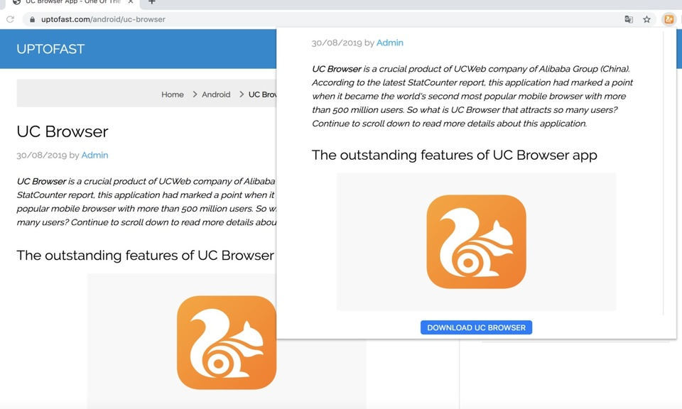 UC Browser - The best web browser