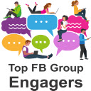 Top FB Group Engagers 插件