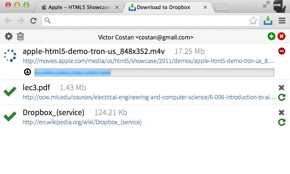 Download to Dropbox - Dropbox下载器