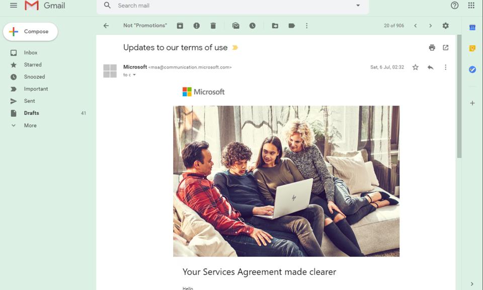 Sender Avatar Icons for Gmail