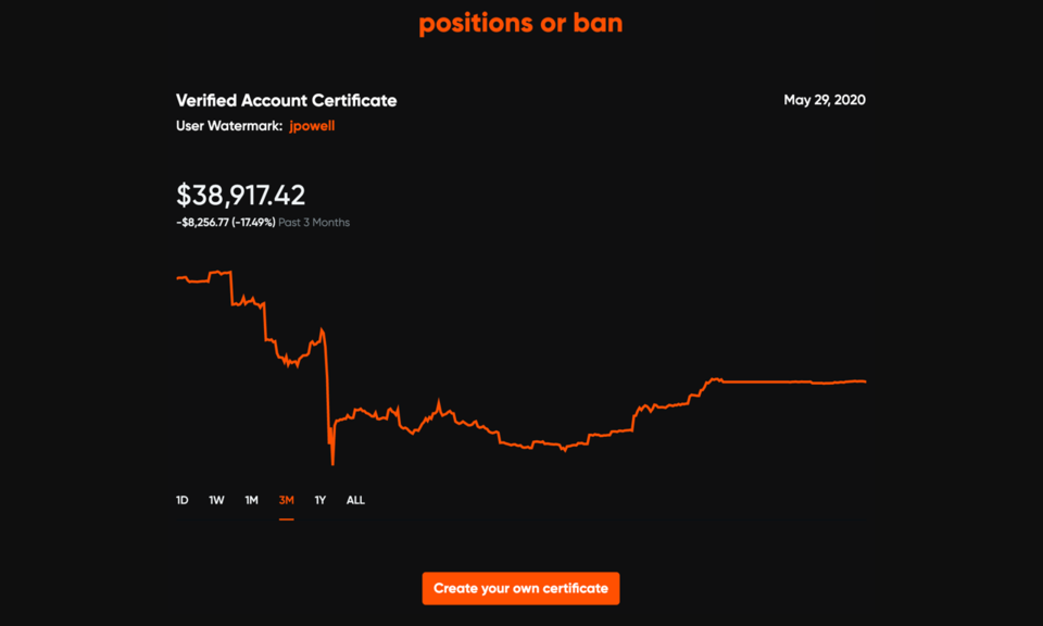 Positions or Ban