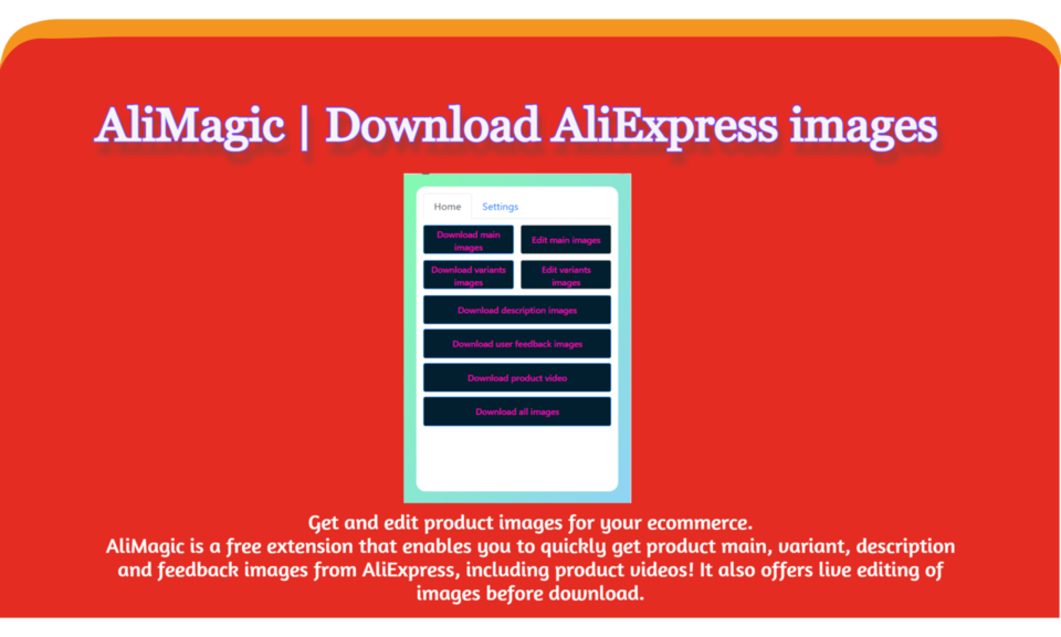AliMagic   Download AliExpress images