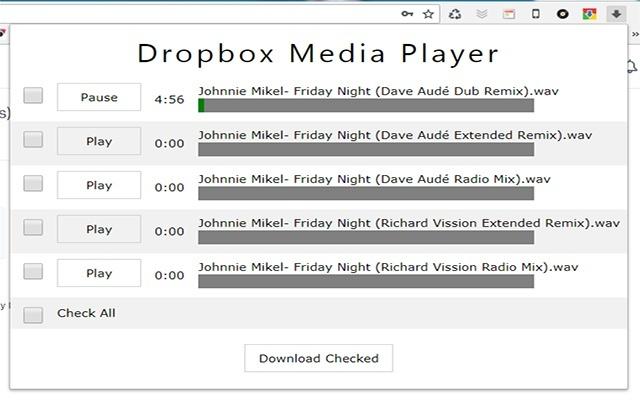 Dropbox Media Manager