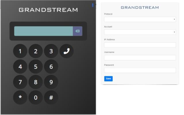 Grandstream C2D Launcher